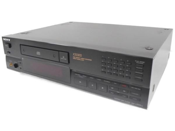 【中古】SONY CDP-X333ES CDプレイヤー ステレオ 音響 オーディオ    H3878736
