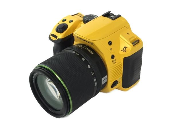 【中古】 リコーイメージング PENTAX K-30 18-135 レンズキット シルキーイエロー N3881685
