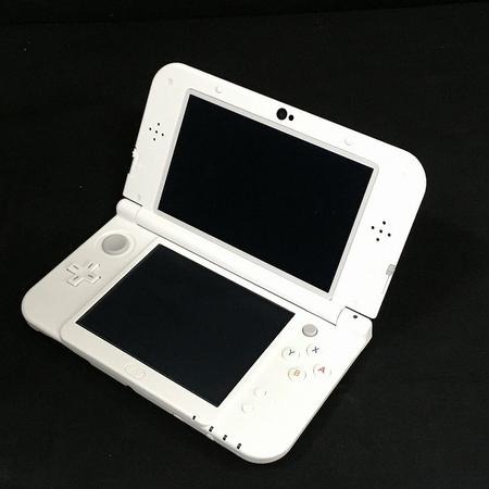 【中古】Nintendo 任天堂 New 3DS LL RED-001 ポータブル ゲーム機  W3554407