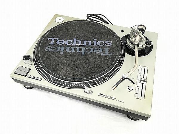 【中古】 Technics SL-1200MK6 ターンテーブル レコードプレーヤー DJ テクニクス 音響 オーディオ W3908453