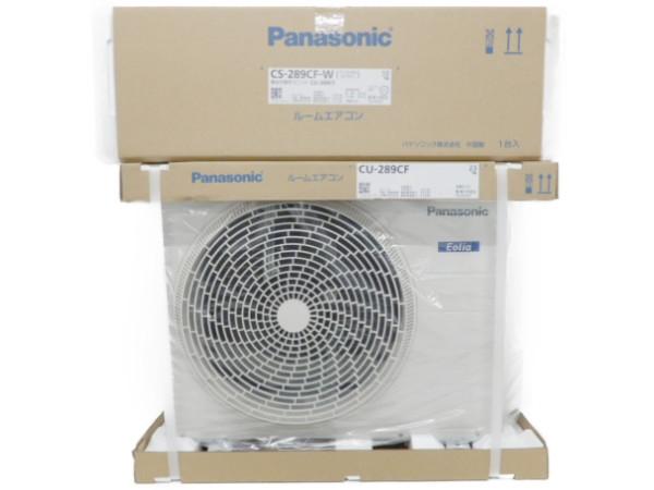 未使用 【中古】 パナソニック Panasonic CS-289CF インバーター 冷暖房除湿タイプ ルームエアコン 未使用 F3938137