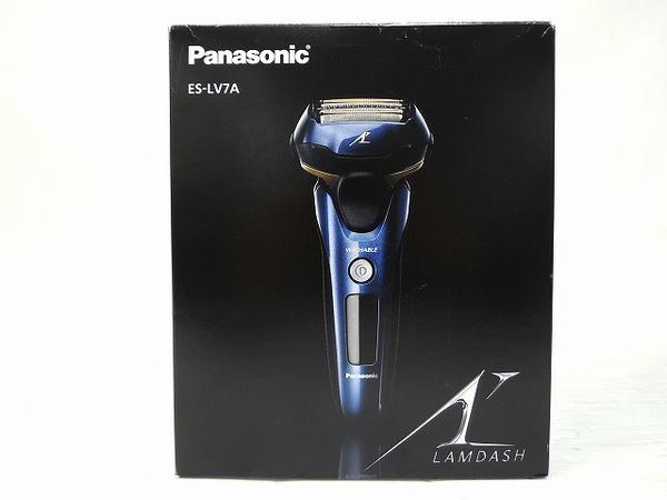 未使用Panasonic パナソニック LAMDASH ES LV7A A メンズシェーバー 5枚刃 青 O2311354GzMSUVqp
