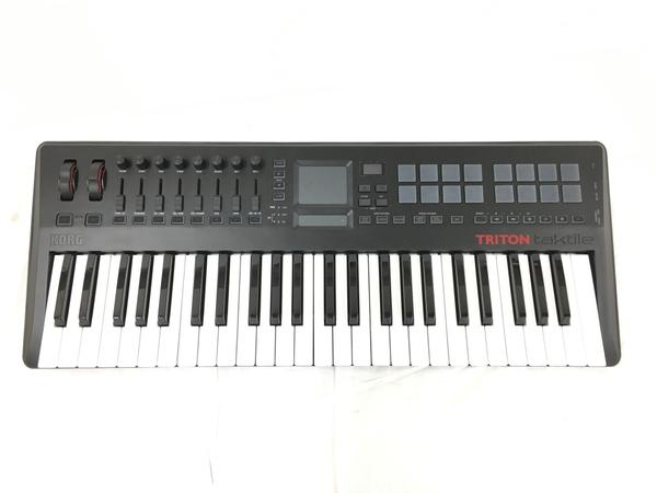 美品 【中古】 KORG コルグ TRITON taktile-49 49鍵 MIDI キーボード シンセサイザー 中古 美品 T3821498