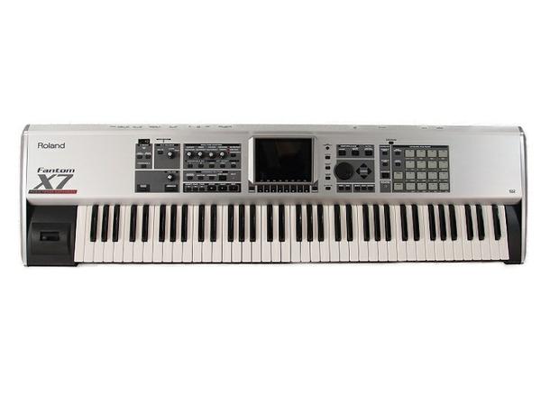 【中古】 Roland ローランド Fantom X7 ファントム シンセサイザー 88鍵 鍵盤楽器 演奏 フットペダル 付き S3487801
