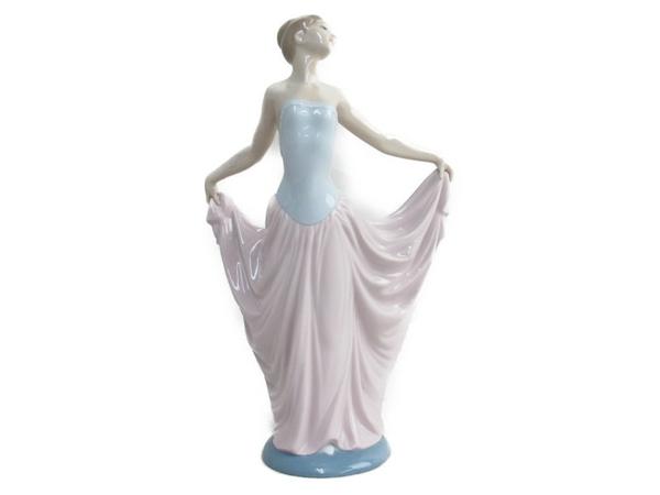品質が完璧 【】 リヤドロ 踊る少女 フィギュア 箱 付 陶芸 西洋陶磁 N3323363, TOKYO右左喜 3c03606a