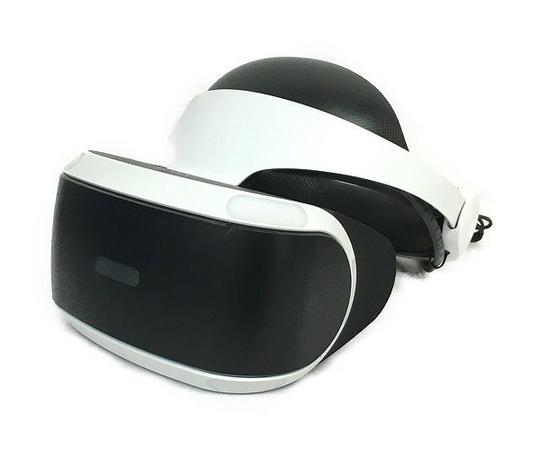 【中古】 SONY PlayStation VR CUHJ-16001 ヘッドマウント型 バーチャルリアリティシステム T4626137