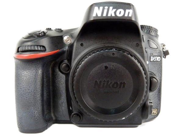 【中古】 Nikon ニコン 一眼レフ D610 ボディ デジタル カメラ 機器 Y3487077