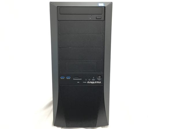 【中古】 Thirdwave GALLERIA XF デスクトップ パソコン PC Intel Core i7 9700K 3.60GHz 16GB SSD 500GB/HDD 2.0 TB Windows 10 Home 64bit T3857760