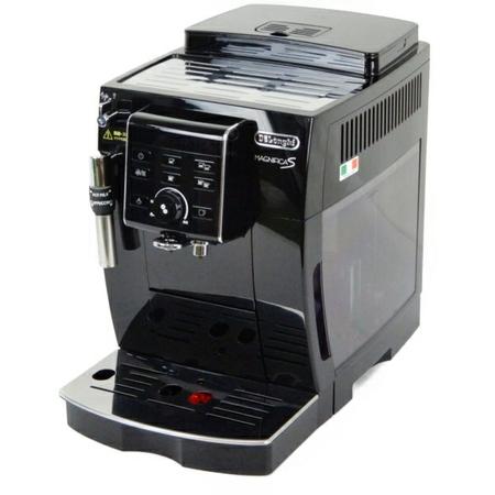 【中古】 DeLonghi デロンギ MAGNIFICA S ECAM23120B エスプレッソマシン 全自動 ブラック マグフィニカ Y3895635