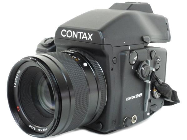 最新コレックション 【 CONTAX】 良品 カメラ CONTAX 645【】 Planar 80mm F2.8 Carl Zeiss 中判 カメラ Y1944912, ナカトンベツチョウ:d738b9fc --- kidsarena.in
