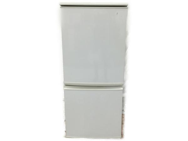 【中古】 中古 SHARP 冷凍冷蔵庫 SJ-UT14-W 2011年製 ホワイト 家電 N4841569