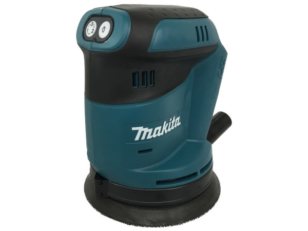 未使用 【中古】 makita マキタ BO180DZ 18V 125mm 充電式ランダムオービットサンダ  N4762325