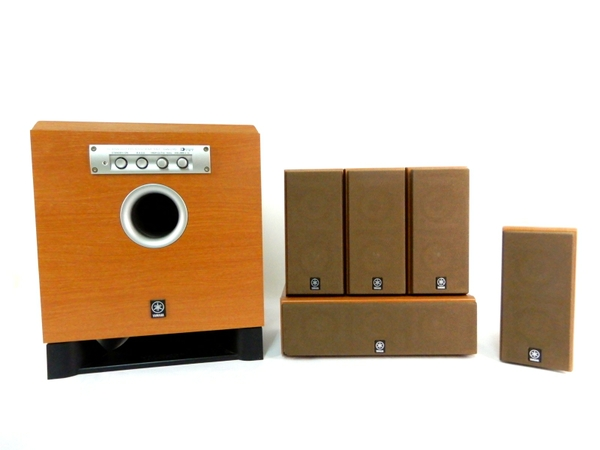 YAMAHA ヤマハ YST SW015 NX 430P シアター サウンド スピーカー ホーム シアター システム オーディオ0Ok8nwP