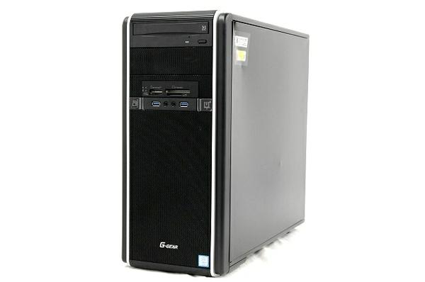 【中古】 TSUKUMO eX.computer G-GEAR 『BLESS』 推奨パソコン ハイスペックモデル ゲーミング PC i7 7700 3.6GHz 16GB SSD500GB Win10 Home 64bit GTX1070 T3461705