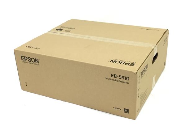 未使用 【中古】 EPSON エプソン EB-5510 プロジェクター 映像機器 N3882710