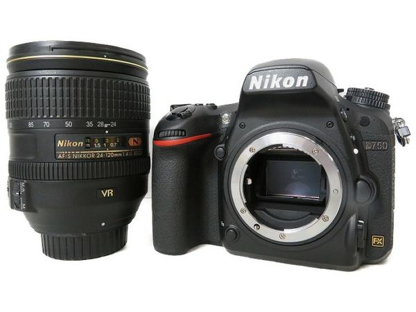 【中古】 良好 Nikon D750 24-120 4G VR KIT デジタル 一眼カメラ セット S3484046