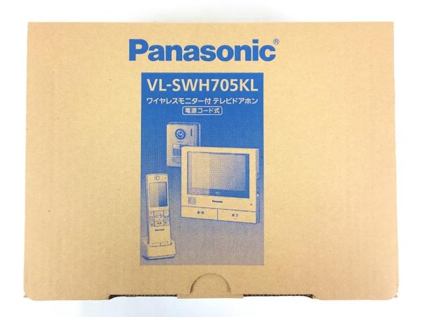 未使用 【中古】 Panasonic VL-SWH705KL インターホン ワイヤレスモニター付 テレビドアホン パナソニック T3638517