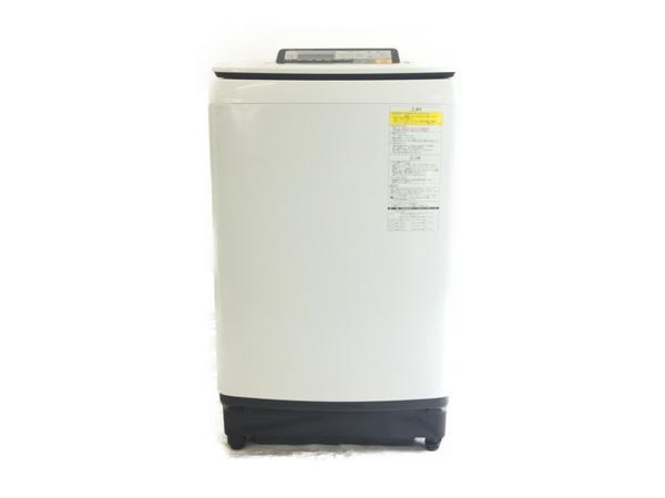 【中古】 Panasonic NA-FW100S2 洗濯機 乾燥機 10kg すっきりフロント 縦型 【大型】 S3960838