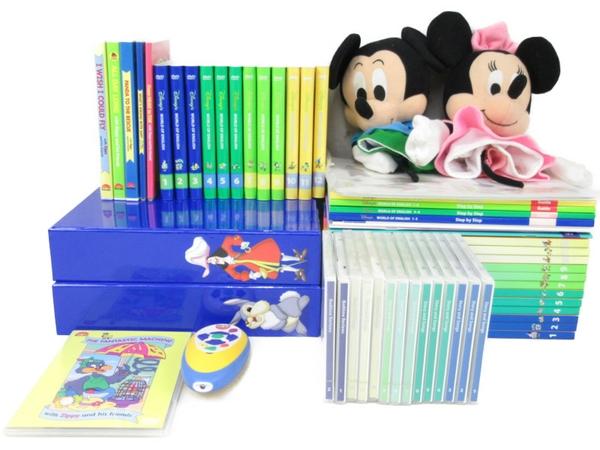【中古】 DWE ディズニーの英語システム メインプログラム こども英語 教材 2011年頃 N3668534