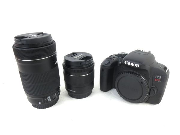 未使用 【中古】 Canon EOS kiss X9i デジタル 一眼レフ カメラ 18-55 55-250 ダブル ズーム レンズ キット キヤノン M3821810