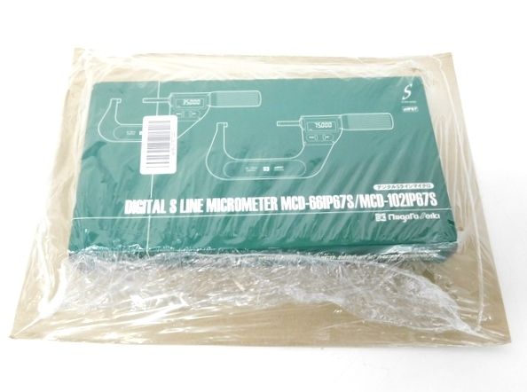 未使用 【中古】 新潟精機 MCD-66IP67S デジタルSラインマイクロ マイクロメーター F2603303