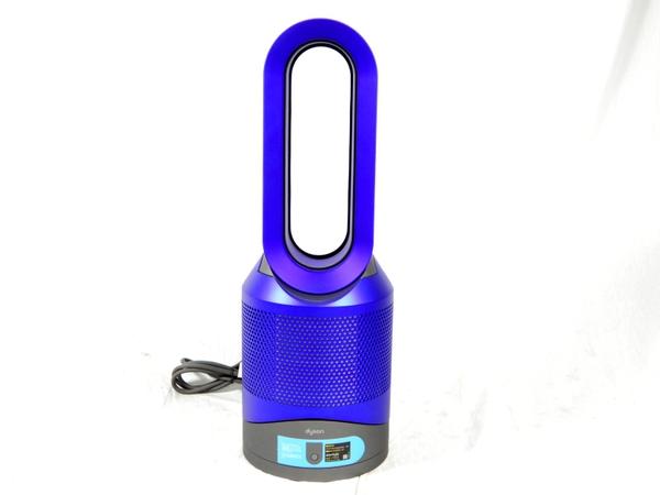 【中古】 Dyson ダイソン Pure Hot+Cool Link HP02IB 空気清浄機能付ファンヒーター 羽無し扇風機 暖房 アイアン/ブルー K3529149