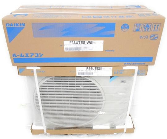 未使用DAIKIN 12畳用 ルームエアコン EシリーズS36UTES W 空調 家電N25955098nvmNw0