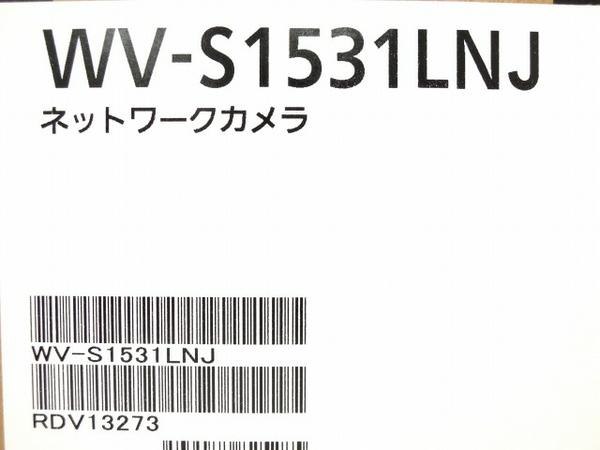 未使用【】未使用PanasonicパナソニックWV-S1531LNJ監視カメラi-PROEXTREMEネットワークカメラO3317260