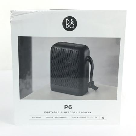 未使用 【中古】 B&O BeoPlay P6 Black ポータブル ブルートゥース スピーカー オーディオ 音響 機器 Y3894480