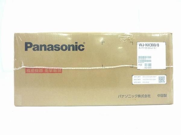 未使用 【中古】 未使用 Panasonic パナソニック WJ-NX300/8 ネットワーク ディスク レコーダー 8 TB( 2 TB×4 ) 防犯カメラ O3649547