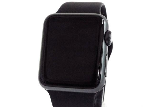 【中古】 良好 Apple WATCH SPORT 38MM (1ST GEN) スマートウォッチ アップル T3622537