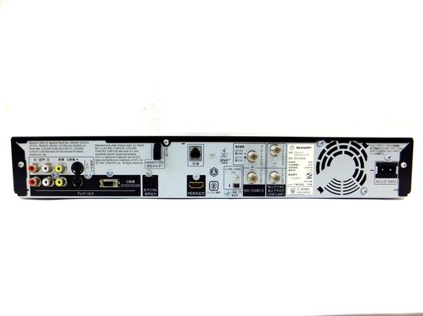 SHARP BD HDS32 ブルーレイ ディスクレコーダーM42060658ymnwvPN0O