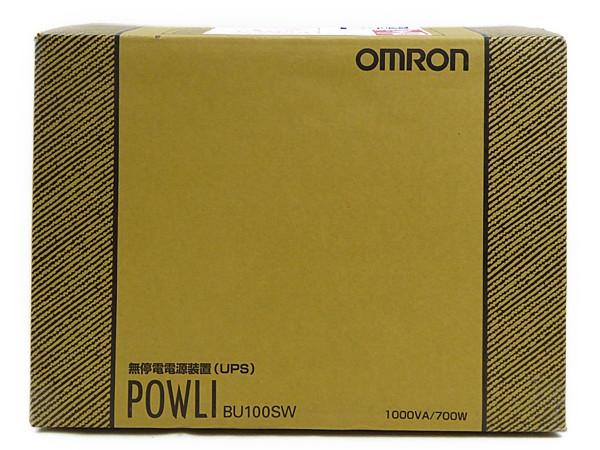 本物保証!  未使用 BU100SW【】 OMRON オムロン インバータ 無停電装置 (UPS) (UPS) BU100SW インバータ N1818815, ドリンクマン:f402d5bd --- online-cv.site