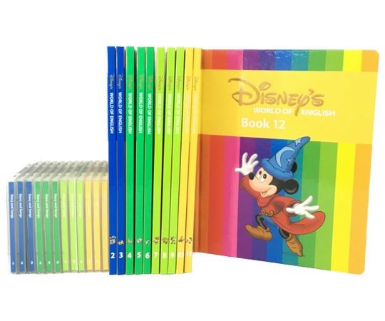 【中古】 DWE ディズニーの英語システム メインプログラム 絵本 欠品あり 2-12 全11冊 CD 12枚 2012年頃 こども英語 教材 N3980674