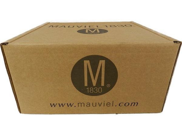 未使用 【中古】 MAUVIEL モヴィエル ムヴィエール オーバル ココット フタ付 24cm フランス製 料理 調理 S3361378