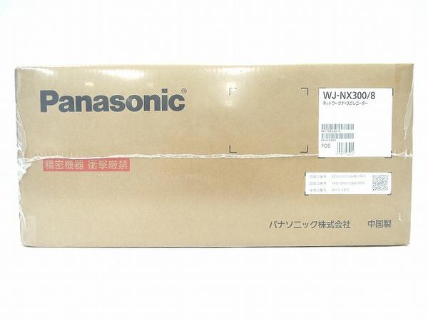 未使用【】 Panasonic WJ-NX300/8 ディスク ネットワーク ディスク ネットワーク レコーダー パナソニック 8 TB( 2 TB×4 ) 防犯 カメラ パナソニック O4150235, 豊能郡:b8a79540 --- citi-card.co.uk