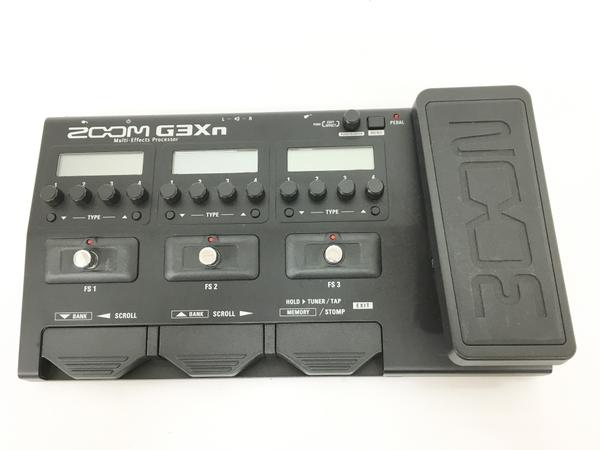 【中古】 Zoom G3Xn Multi-Effects Processor ギター マルチ エフェクター 器材 中古 良好 T4583585