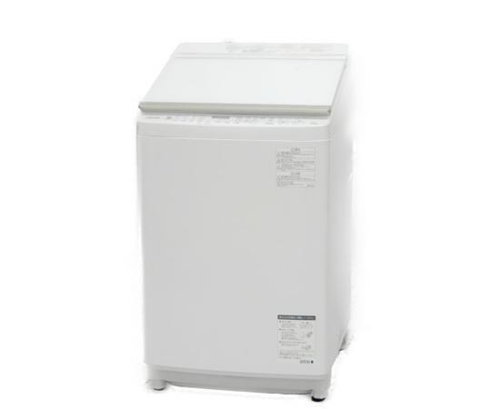 美品 【中古】 東芝 ZABOON AW-10SV6 洗濯乾燥機 10kg グランホワイト【大型】 K3303101
