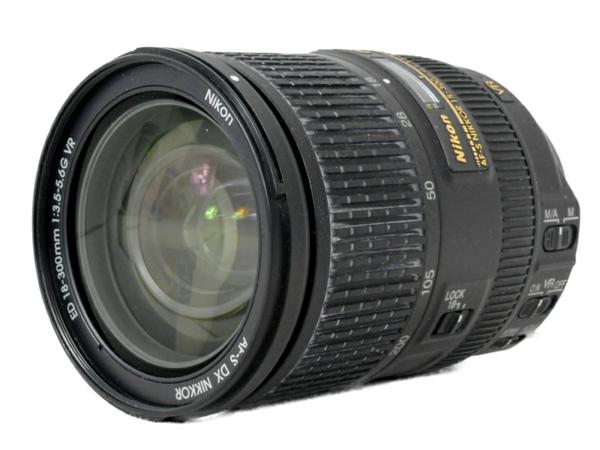 【中古】 中古 Nikon ニコン AF-S NIKKOR 18-300mm 1:3.5-5.6 G ED DX VR カメラ レンズ 機器 S3624834
