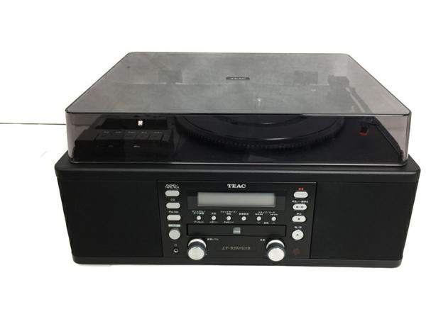 【中古】 TEAC ティアック LP-R550USB-B レコードプレーヤー ターンテーブル ブラック S3908408
