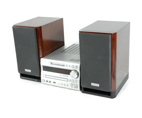 【中古】ONKYO オンキヨー X-N9SX (FR-N9SX D-N9SX) CD MD コンポ オーディオ 音響 セット K3918050