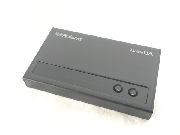 美品  Roland Mobile UA UA-M10 USB オーディオ インターフェース ローランド 美品   W4365630:ReRe(安く買えるドットコム)