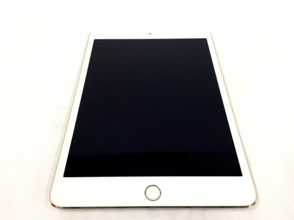 【中古】 APPLE アップル iPad mini 4 MK9Q2J/A Wi-Fiモデル 128GB 7.9型 ゴールド タブレット 中古 良好 T3826359