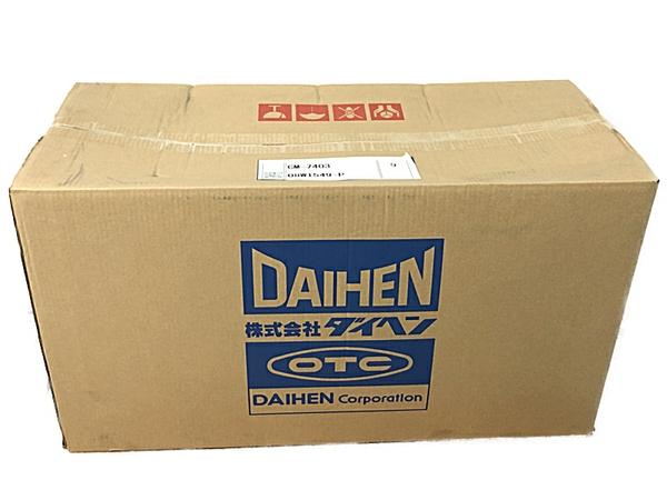 未使用 【中古】DAIHEN ダイヘン CM-7403 ワイヤ送給装置 S4670007