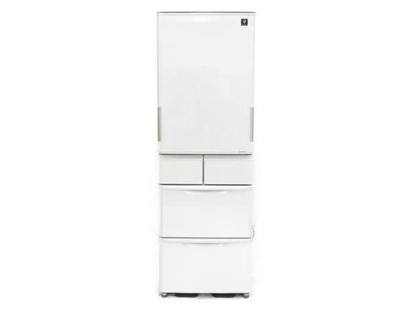 【中古】 SHARP 冷蔵庫 SJ-PW41C-C 412L 5ドア キッチン 家電 2017年製 【大型】 N3943192