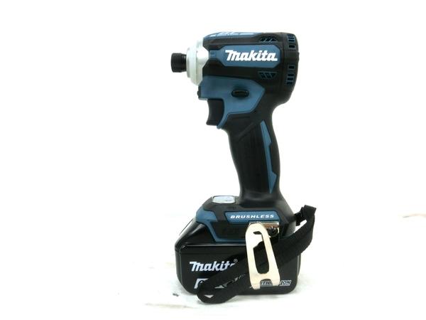 未使用 【中古】 未使用 makita マキタ TD171DRGX 充電式 インパクトドライバー 18v 6.0Ah 電動工具 M4956943
