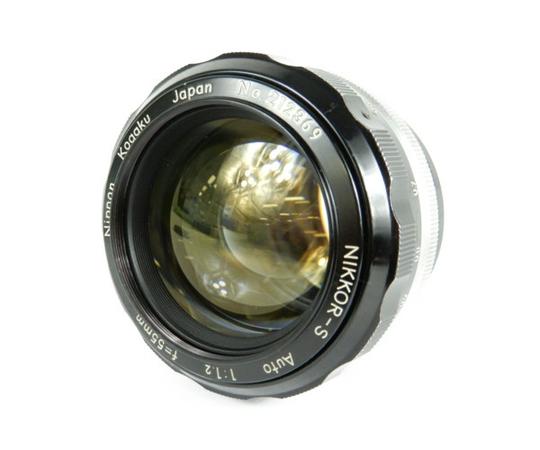 【中古】 Nikon ニコン NIKKOR-S Auto F1.2 55mm 単焦点 カメラ レンズ K3917414