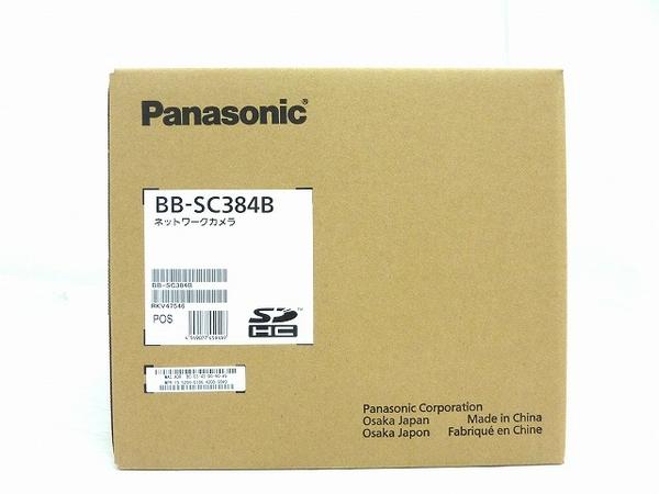 未使用 【中古】 未使用 Panasonic パナソニック BB-SC384B ネットワークカメラ 防犯 屋内用 O3652487