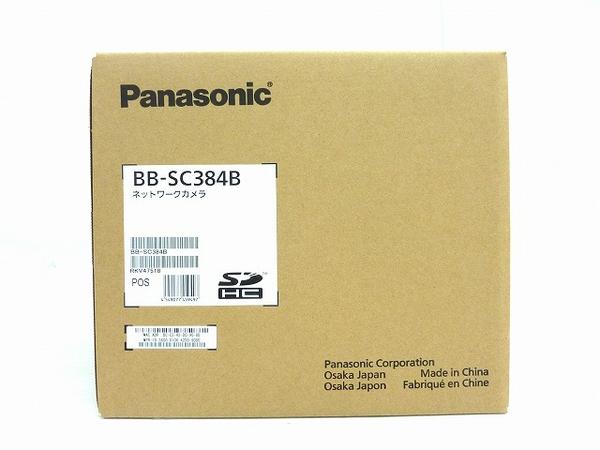 未使用 【中古】 未使用 Panasonic パナソニック BB-SC384B ネットワークカメラ 防犯 屋内用 O3652485