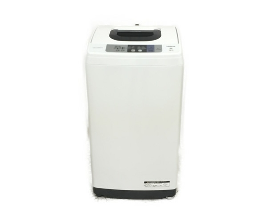 【中古】 良好 HITACHI NW-50B-W 全自動 洗濯機 白い約束 2018年製 5kg 日立 家電 【大型】 K4011218